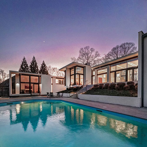 modern homes in Atlanta