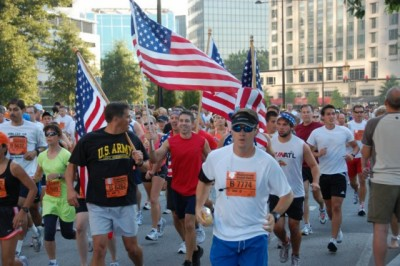 Buckhead event Peachtree Road Race