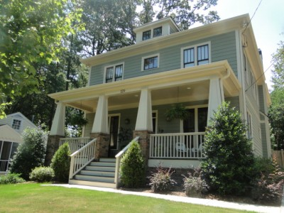 Decatur homes for sale best decatur neighborhood guide for Craftsman style home builders atlanta