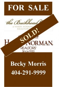 harry norman sold sign