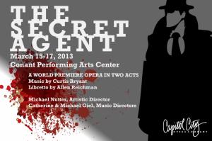 Capitol City Opera - The Secret Agent