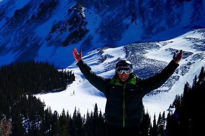 Dixon skiing