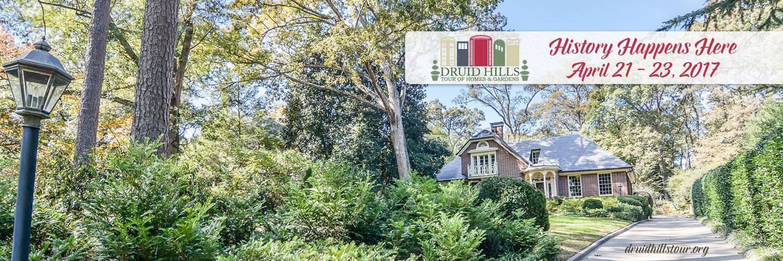 Druid hills tour of homes gardens atlanta real estate Atlanta home and garden