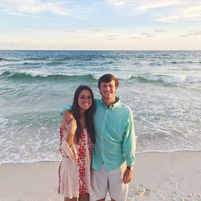 Melissa Morris and boyfriend