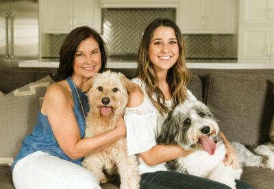 Becky Morris and Melissa Morris