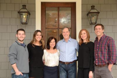 Dixon with family