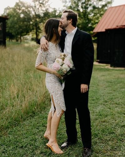 Melissa Morris wedding